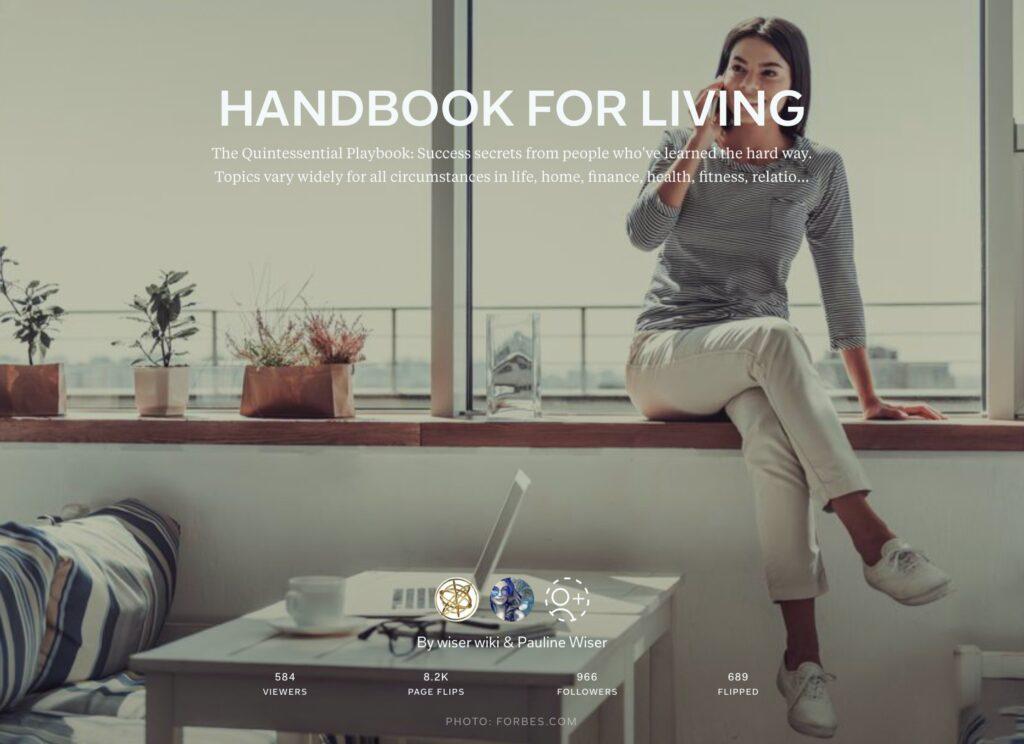 https://flipboard.com/@wiserwiki/handbook-for-living-7kej15apy