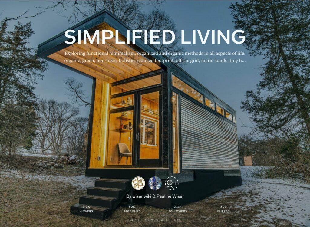 https://flipboard.com/@wiserwiki/simplified-living-t4tm9p95y